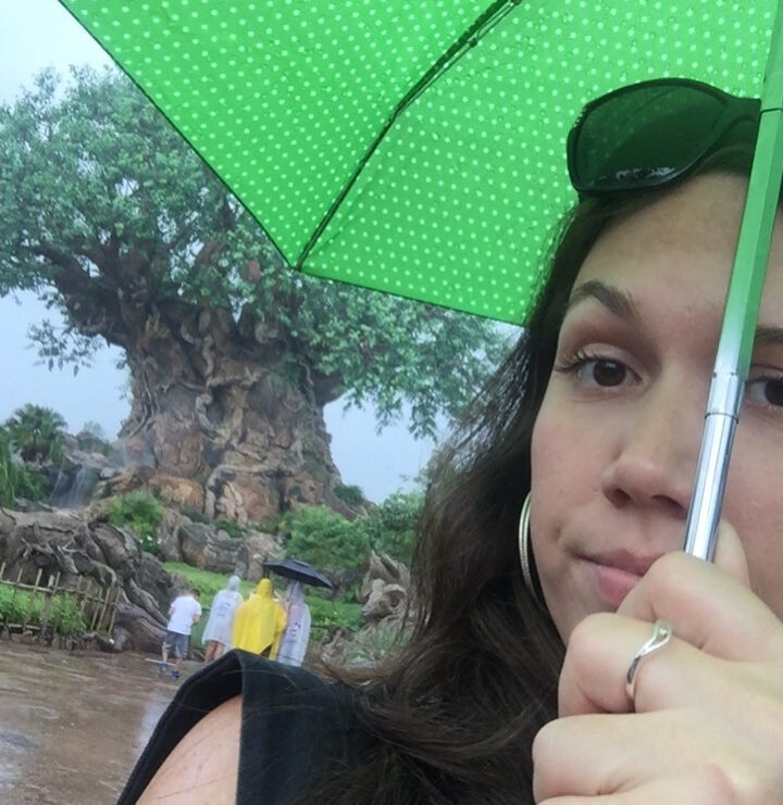 Raining while in Orlando